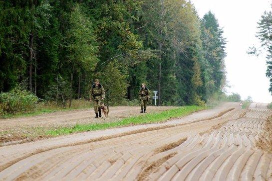 На белорусской границе задержаны вооруженные украинцы