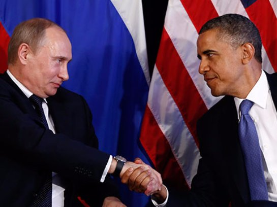 Между Путиным и Обамой снижено напряжение