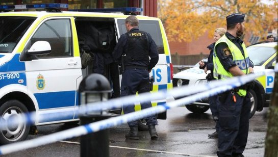В Швеции было совершено нападение на школу