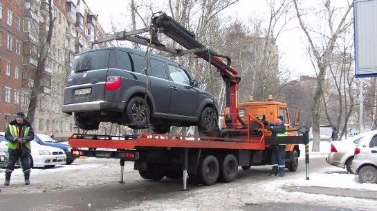 Незаконную эвакуацию автомобиля хотят наказывать