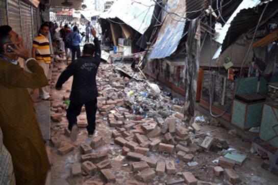 В Афганистане произошло землетрясение, которое повлекло гибель людей