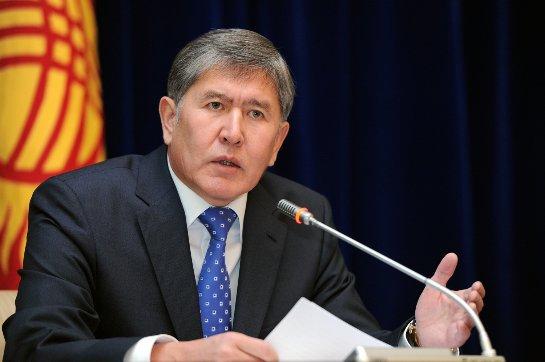 Лидер Киргизии считает российские действия в Сирии первыми, которые приносят плоды