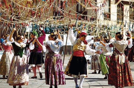 Необычные фестивали Испании
