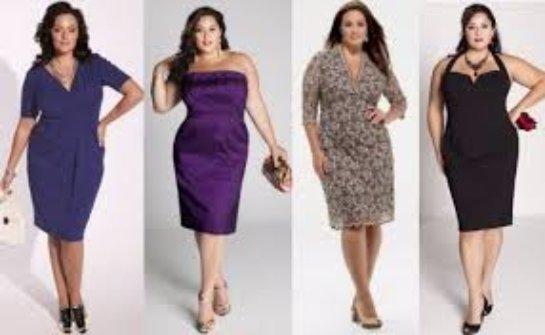 Мода на платья для полных девушек