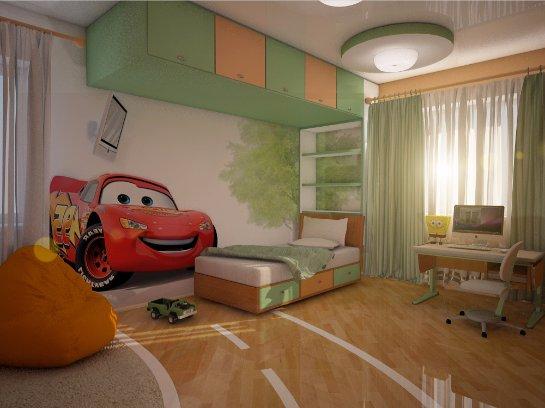Дизайн интерьера детской для вашего мальчика
