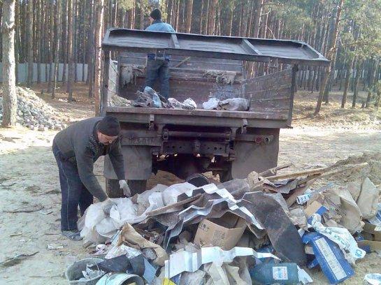 Рекомендация клиента. Вывоз строительного мусора в Киеве.