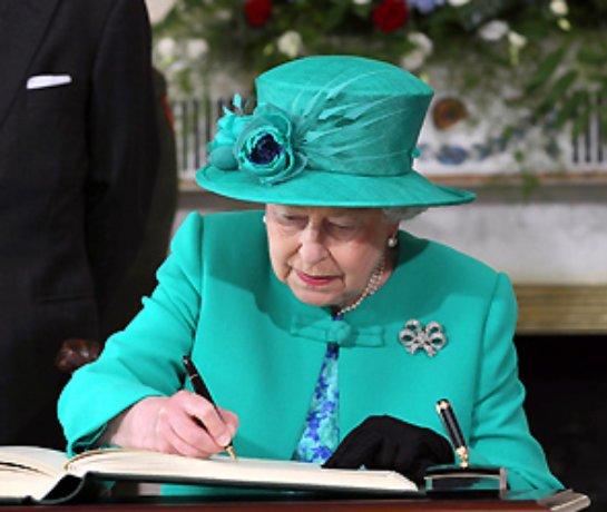 Россиянка заслужила благодарность королевы Великобритании