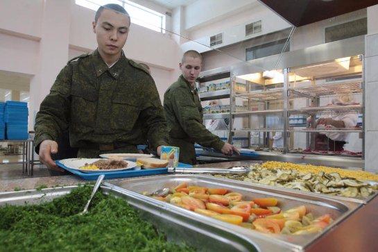 В Литве проблемы с армейским питанием