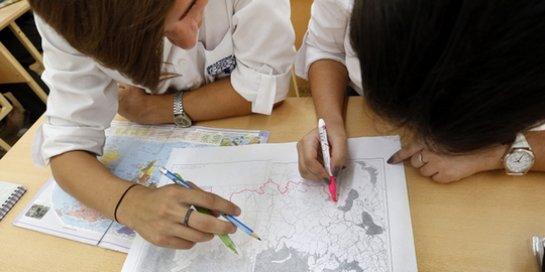 Сегодня прошел Всероссийский географический диктант