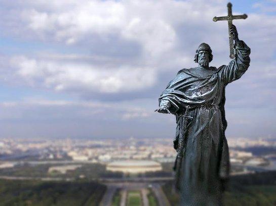 Возле Кремля заложат памятник князю Владимиру