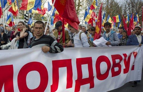 в Молдавии тарифные протесты