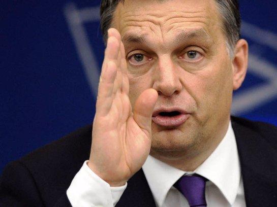 Премьер-министр Венгрии снова выступил против приема мигрантов с Ближнего Востока