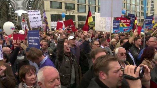 В Париже массовые волнения - люди протестуют против миграционной политики