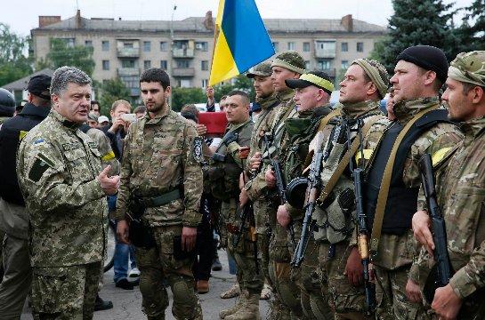 В украинской армии будут служить иностранцы