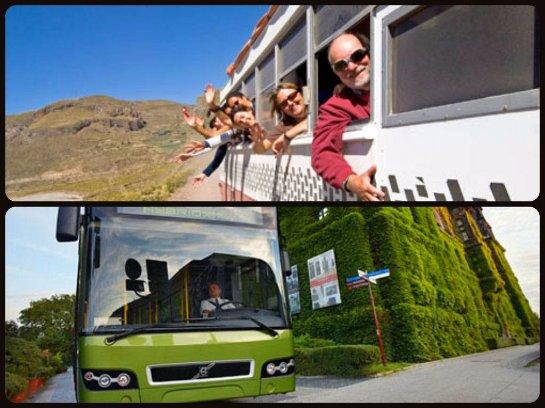 Достопримечательности автобусных маршрутов во Францию