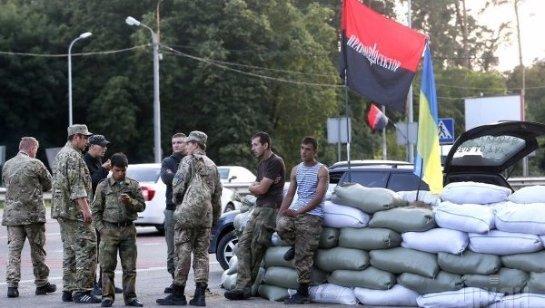 » Правый сектор» больше не будет участвовать в блокаде Крыма