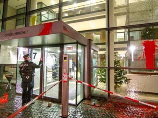 В Германии пострадал офис Фейсбук