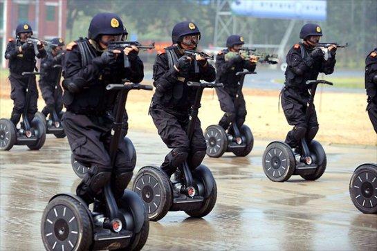 Китай законодательно закрепил борьбу с терроризмом