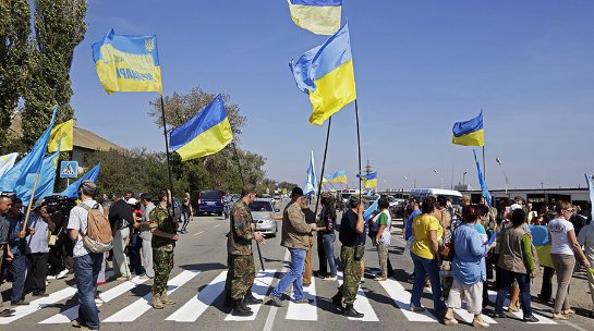 Турецкие власти собираются оказывать помощь тем, кто устраивает блокаду Крыма