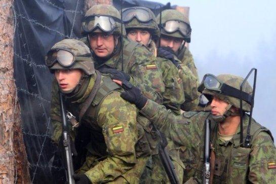 Литовские военные оскандалились на учениях