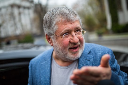 Коломойский снова угрожает Саакашвили, но уже из-за рубежа