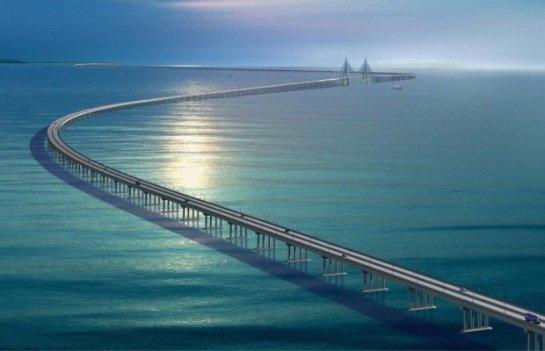 С будущего года начнут строить мост, который соединит Крым с материковой Россией