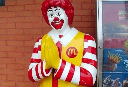 На столичный Макдональдс