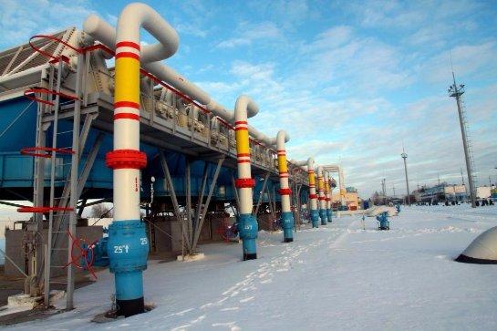 В » Нафтогазе» заявили, что российский газ в Гениченск не поступает