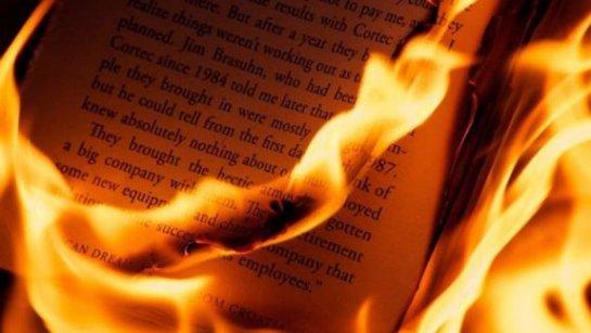 В Республике Коми сожгли печатные материалы Фонда Сороса