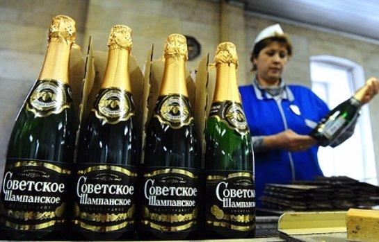 На Украине запретили » Советское шампанское»