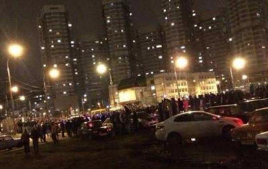 Ночью в Москве были ликвидированы массовые беспорядки