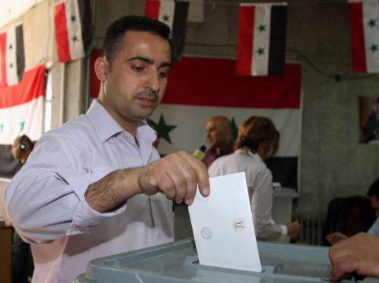 В США дали оценку сирийским выборам