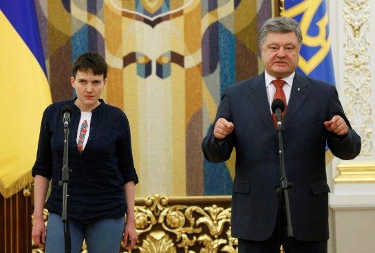 Надежда Савченко пообещала стать вежливее