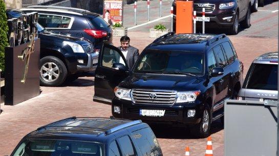 Украинский губернатор Саакашвили лишился дорогого автомобиля