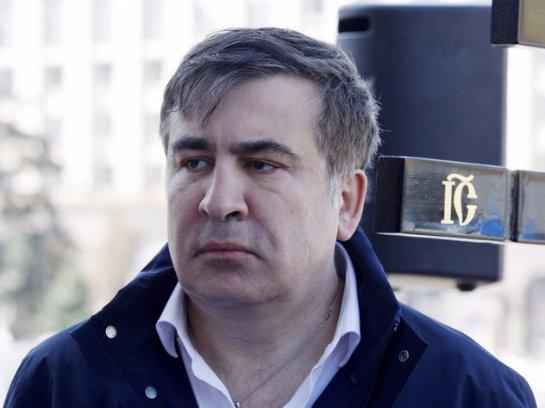 Саакашвили открестился от бронированного автомобиля
