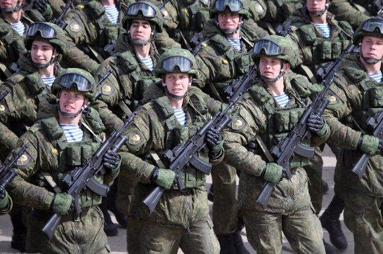 Путин рассказал, почему происходит укрепление российской армии