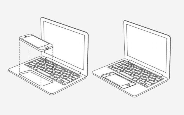 Ноутбук/док-станция для iPhone уже прошёл патентное бюро