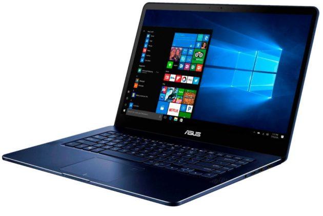 Asus показала ZenBook Pro UX550 с 4K дисплеем на Computex 2017