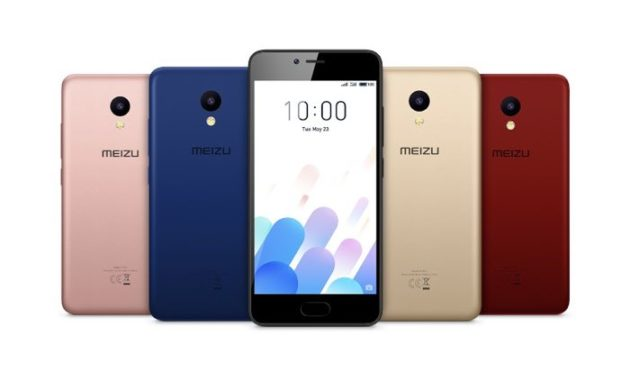 Meizu официально представил смартфон M5С с Flyme OS