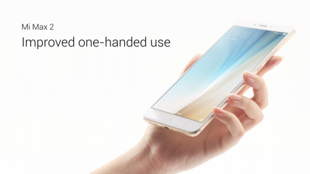 Смартфон Xiaomi Mi Max 2 представлен официально!