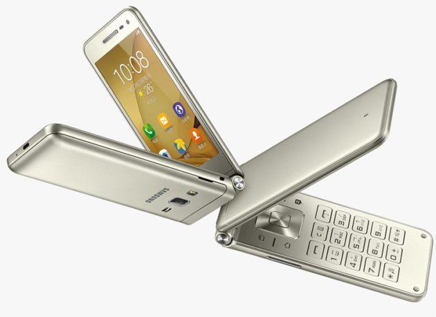 Samsung начинает продажи «раскладушки» на Android