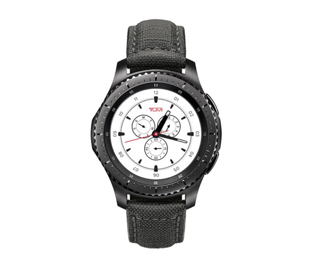Умные часы Samsung Gear S3 frontier TUMI Special Edition уже в продаже