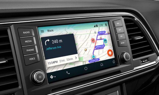 Waze появился в Android Auto