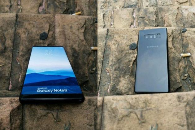 Появились первые снимки Samsung Note 8