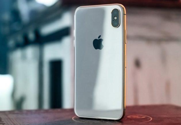 Apple iPhone X, хочешь покрыть его золотом?